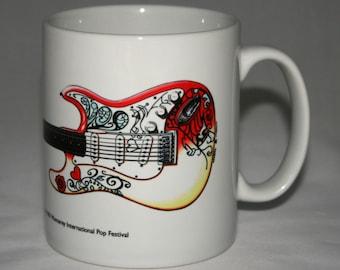 Guitar Mug. Jimi Hendrix's Monterey Fender Stratocaster
