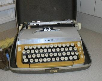 1960s SINGER portable typewriter