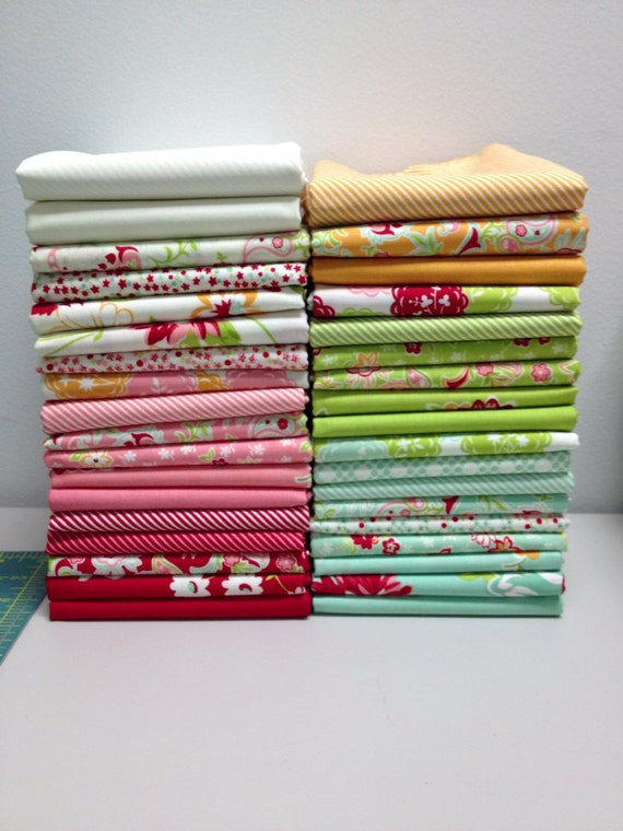 Scrumptious by Bonnie and Camille - Fat quarter bundle