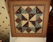 Lovely quilted wall hanging