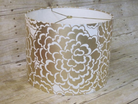 items similar to small lamp shade drum lampshade made with. Black Bedroom Furniture Sets. Home Design Ideas