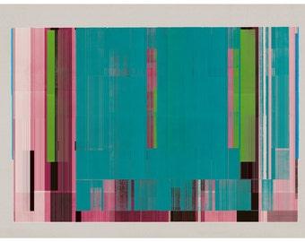 Abstract composition 116 - minimal art print - abstract art