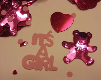 It,s a Girl confetti / sequins, 13-23 mm (1)