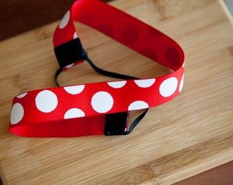 Minnie Mouse Inspired Baby Headband Infant Headband Toddler Headband Headband for Baby Kids Headband