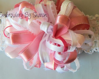 Baby and toddlers Headbands  Bow For Babies to Toddlers