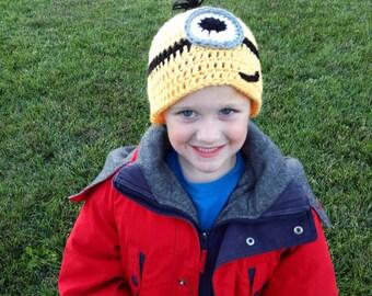 Crochet Minon Hat- Baby Size