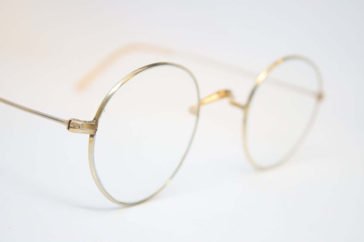 Vintage Glasses Frames Antique Gold P3 vintage Eyeglass Frames
