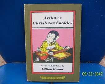 Arthur's Christmas Cookies, 1972, Weekly Reader Books, An I Can Read Book