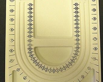 1pc Yellow Plastic Bead Design Board-8984