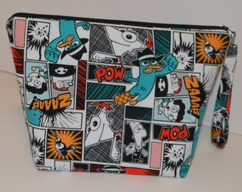 Phineas and Ferb project bag