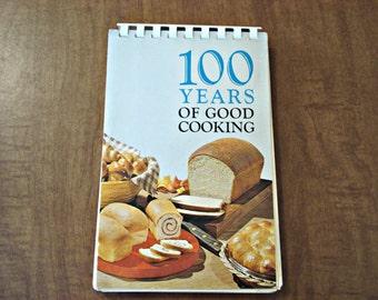 100 Years Of Good Cooking, Minnesota Centennial Cookbook, Vintage Cookbook, Minnesota History, Cookbook, Book,  Recipes, 100 Recipes.