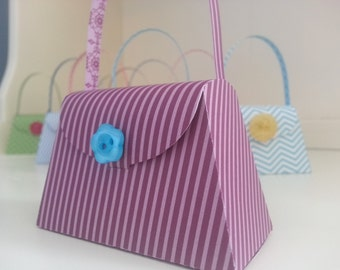 10 Girl Birthday Party Favors, Girlie Purse Party Favors, Tea Party Birthday Party Favors, Baby Shower Favors, Tea Party Favor, Purse Favors