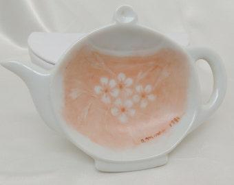 Hand Painted Teabag Holder