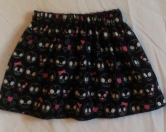 Trendy Girls Punk Skulls Skirt 18/24m  Ready to Ship