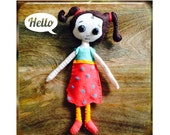 LeLe Doll, based on the book LeLe's Passport by Michelle Ingle