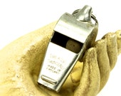 1940's British Police Bobbies Coach Officials Acme Thunderer Steel Whistle - Wilson Vintage Athletic
