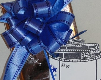 Film Strip Gift Bow and Tag