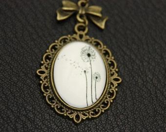 Necklace dandelion 1825C