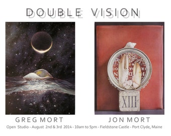 Poster Print DOUBLE VISION Greg Mort Limited Edition Signed Poster