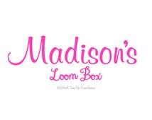 Custom Personalized  Loom Storage Box Case Decal Sticker