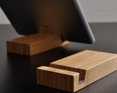 iPad Stand / iPad Air Stand / iPad Mini Stand / iPhone Stand - Bamboo