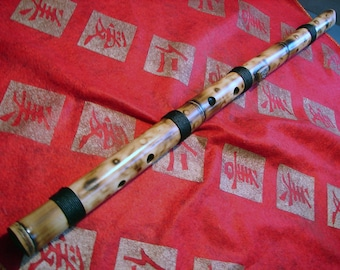 """Kokin"""" Bamboo Flute ,Left Hand Player.For right hand,make a request."""