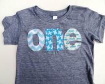 one Birthday Shirt for boys 1st Birthday - chevron, airplanes planes, cars