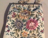 Vintage WALBORG Brocade Purse Made in West Germany exclusively for WALBORG