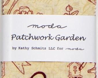 Patchwork Garden Mini Charm Pack by Kathy Schmitz for Moda