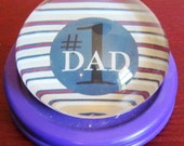Number 1 Dad Paper Clip/ Paper Weight for Work Desk