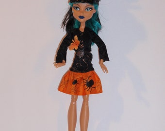 Handmade M.H. dolls  Dress,Bolero, -Handmade M.H. dolls  Clothes