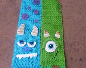 Crochet Monster Scarf
