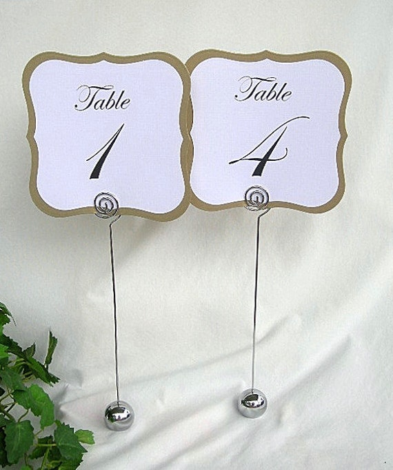 table place cards card holders