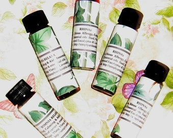Aromatherapy Massage Oils -  29.99 ( For 6 bottles )