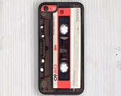 Red Vintage Cassette IPHONE CASE | iPhone 6/6S | iPhone 6/6S Plus | iPhone 5/5S | iPhone 5C | iPhone 4/4S