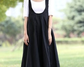 Romantic  Black Vest Bud Long Maxi Dress (C279)