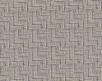 Michael Miller Just My Type by Patty Young Crossgrain in Gray by the Yard