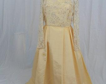 Vintage 60's Wedding Gown
