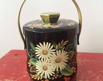 Vintage English Tin Candy Box