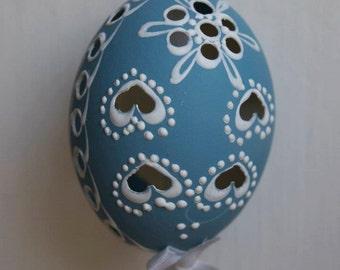 Handmade Colored Madiera Easter Eggs