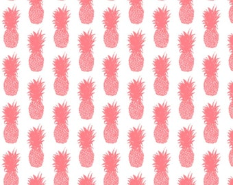 Pineapple Coral - Fabric by the Yard