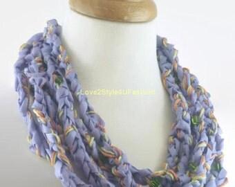 Purple Statement Necklace - Plum Purple Necklace - Statement Necklace - Handmade Necklace - Purple Necklace - Womens Unique Necklace
