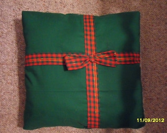"Handmade Christmas ""GIFT"" Pillow"