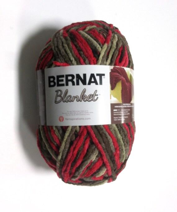 Bernat Blanket Yarn Raspberry Trifle Large By