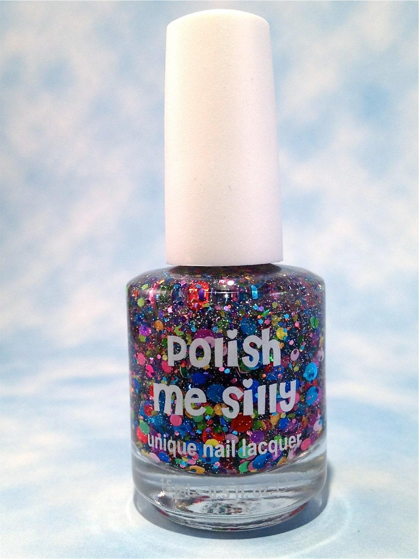 Polish Me Perfect: Surprise Me : Custom-Blended Glitter Nail Polish / Indie