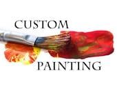 "Custom 32x40"" painting for Sandra"