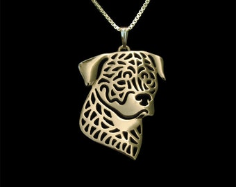 Rottweiler jewelry - Gold