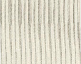Pencil Stripe in Brown  from Stof of Denmark