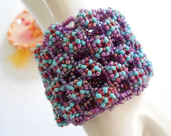 Multi Cluster Seed Bracelet