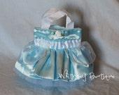 Cinderella Princess Tote Bag-Blue